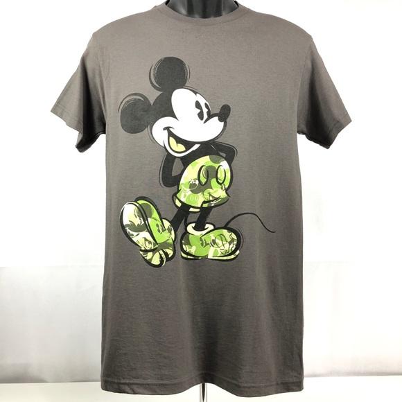 b18dc868 Disney Shirts   Nwt Camo Mickey Mouse Tshirt   Poshmark